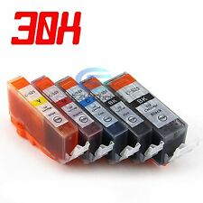 30x Ink Cartridge PGI525 CLI526 for Canon MG5230 MG8180 IP4950 MX885 Printer