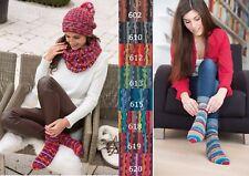 Sockenwolle 6fädig Gründl Hot Socks Stripes 150g *6fach* für kuschelwarme Füße
