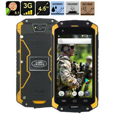 """3G Rugged Android Smartphone 4.5"""" Discovery V9 Dual Core Outdoor HD 1G+8GB Phone"""
