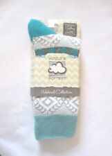 World's Softest Socks - Weekend Collection - Sweet Pea - Crew Length - NEW