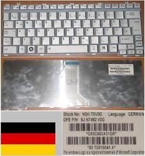 CLAVIER QWERTZ ALLEMAND TOSHIBA A600 M800 U400 NSK-T6V0G 9J.N7482.V0G Gris