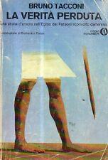 O9 La verità perduta Bruno Tacconi Oscar Mondadori 1977