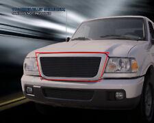 For 06-12 Ford Ranger Replacement Black Billet Grille Upper Grill Insert Fedar
