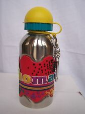 THOMAS Funky Named Metal Silicone Drinks Bottle Flask Container Thermos RED