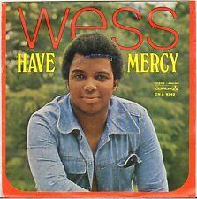 """WESS """"HAVE MERCY"""" FUNK SOUL 70'S SP DURIUM 9342"""
