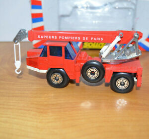 """Vintage SOLIDO DIECAST WRECKER TRUCK NO. 3102 Toy 5.5"""" Long 1975 Retro 70s Toys"""