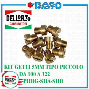 Kit 10 Getti Massimo 5Mm Tipo Piccolo Dell'Orto Da 100 a 122 Carburatori PHBG