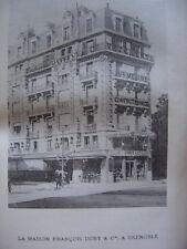 Phototypie Maison François Dony et Compagnie à Grenoble Isère