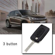 For Citroen C4 Grand Picasso 3 Button Replacement Remote Flip Key Fob Case 3W