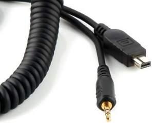 PIXEL CL-DC2 Câble connexion Caméra compatible Nikon D3100, D3200, D5000, D5100