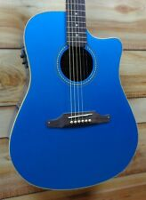 Fender® Sonoran SCE Rosewood Fretboard Acoustic Electric Guitar Lake Placid Blue