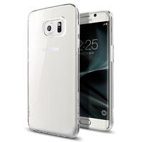 Spigen Galaxy S7 Edge Case Liquid Crystal Crystal Clear