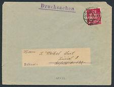 Dt. Reich 80 PF. herrero mejores EF 1922 presión causa Leipzig suiza (s12697)