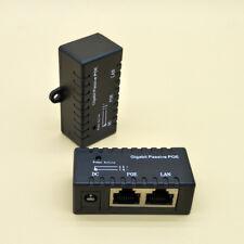 RJ-45 Gigabit Simple Passive PoE injector Splitter for CCTV IP Camera Networking