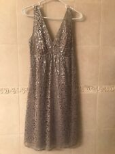 The Limited Party Dress - Silver Lace/Metallic - Size 8 *NEW*