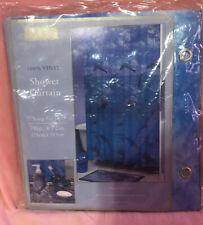 "Dolphin Vinyl Shower Curtain 70"" X 72"" NEW Jubilee Licensed Beach Bathroom"