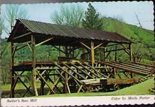 (xeq) California Postcard: Sutter's Saw Mill