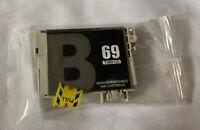 EPSON 69 T069120 Black Ink Cartridge Genuine Original New