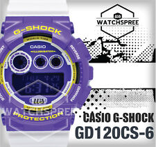 Casio G-Shock Based on GD-120 Crazy Colors Series Watch GD120CS-6D