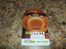 SUBWAY MISS PIGGY MUPPETS MOVIE GIFT CARD NO CASH VALUE.