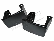 LAND ROVER DEFENDER & SERIES REAR LH & RH MILITARY STYLE BUMPERETTE SET OF 2