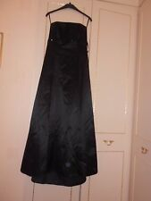 Stunning Black Designer Evening/Ball Gown from the Debut Label Size 12 BNWOT