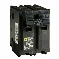 Square D Circuit Breaker, 45 Amp, 2-Pole, Hom245