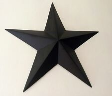 Rustic black Tin metal Barn Star 46cm