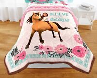Dreamworks Spirit Riding Free Lucky Spirit Horse Pony Bedding Comforter Twin