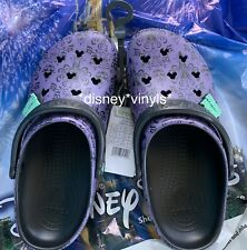 Disney Haunted Mansion Wallpaper Design Crocs Adult Size M8/W10 Shoes