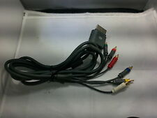 HD TV Component Composite Video Audio AV Cable for Microsoft Xbox 360 (Official)