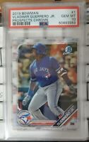 2019 Bowman Chrome Vladimir Guerrero Jr. ROOKIE RC #1 PSA 10 GEM MINT