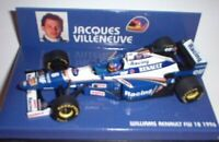 MINICHAMPS 960006 970003 980091 WILLIAMS F1 model cars Jacques Villeneuve 1:43rd