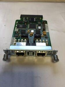CISCO VWIC2-2MFT-G703 MULTIFLEX VOICE / WAN INTERFACE MODULE
