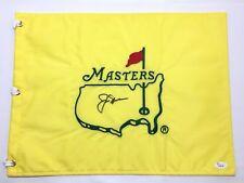 Jack Nicklaus Signed Undated Masters Flag JSA Loa