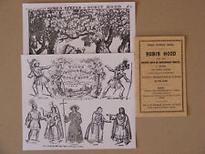 Toy Theatre Play,Webb's Robin Hood.