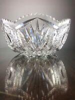 """American Brilliant Glass By H.C. Fry in Keystone 10"""" Bowl"""