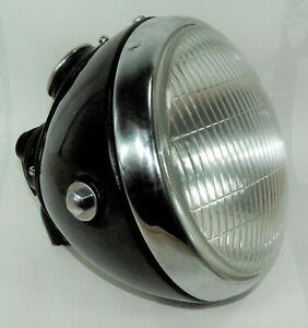 Lucas SSU700 headlamp Scheinwerfer 40er jahre Triumph Norton BSA AJS Ariel Panth
