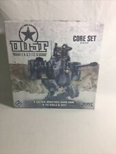 Dust Tactics Core Set Revised Game Miniatures + Posters (Open Box)