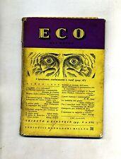 ECO DEL MONDO # MARZO - VOLUME VI - N.31 - ANNO III # Periodici Mondadori 1949