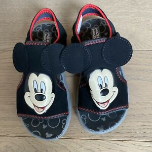 Disney Mickey Mouse Sandals Size 11/12