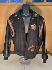 Harley-Davidson Classic Leather/fleece Jacket Size Small