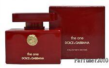 Dolce&Gabbana D&G The One Collector Edition 50ml EDP Eau de Parfum Spray Neu