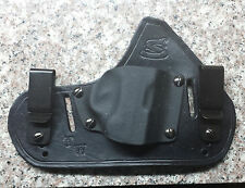 Hybrid Holster for Smith & Wesson Bodyguard 380 w/laser IWB or OWB right handed