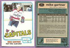 1981-82 OPC O-PEE-CHEE Single Mike Gartner Washington Capitals #347