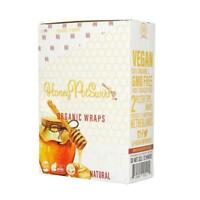 High Hemp HONEY POT SWIRL Organic Wrap Full Box 25 pk (2 Wrap) Pouches 50 Wraps