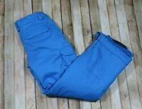 Burton Dryride Snowboard Ski Snow Pants Blue Youth Kids 14 16 Extra Large XL