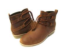 Teva De La Vina Dos Shorty Women Boots Leather Tortoise Shell Us 10 /Uk 8 /Eu 41