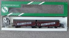 Sachsenmodelle 16008, H0 Leig-Einheit der DR, Aufschrift Stückgut Schnellverkehr