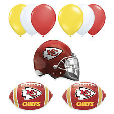 Kansas City Chiefs TEAM Super Bowl 2020 Party Supplies Decoration Balloons • 9pc